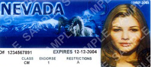 Nevada drivers license