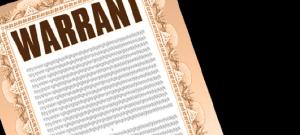 Warrant example