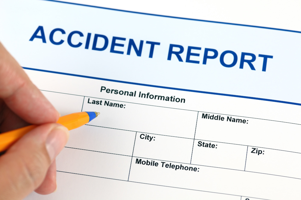 Accident Report Car Crash Attorney